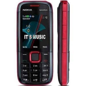 Nokia 5130 phone red