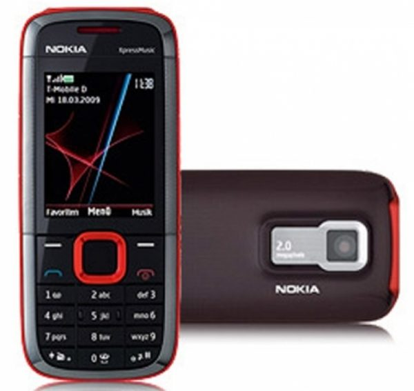 Nokia 5130 Red Phone