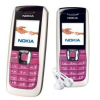 Nokia 2610 Refurbished Phone (Pink-White)