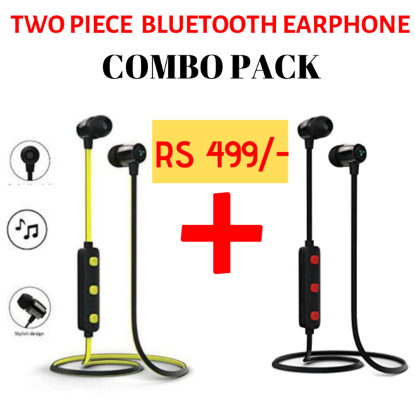 2 Piece Soprts Bluetooth Earphone