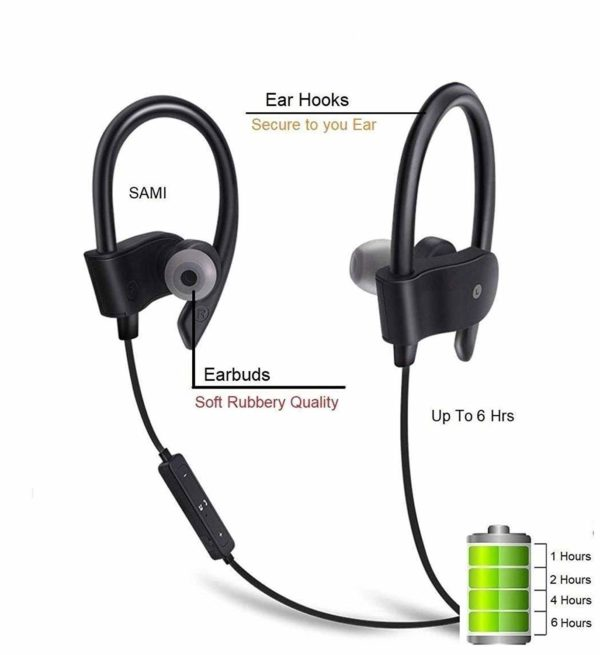 Qc 10 Bluetooth Earphone 1