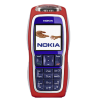 Nokia 3220 Refurbished Phone Red- Blue