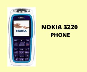 Nokia 3220 Phone