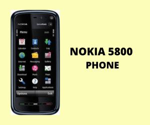 Nokia 5800 Phone