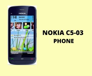 Nokia C5 03 Phone