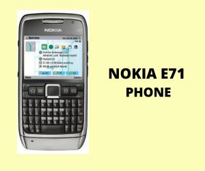 Nokia E71 Phone