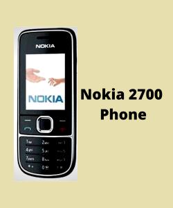 Nokia 2700 Phone