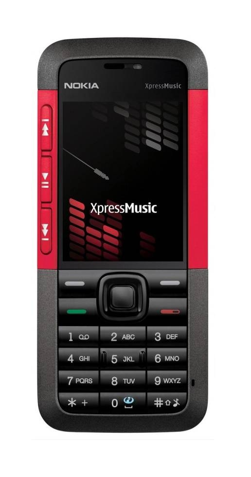 Nokia 5310 Mobile Phone Red 1