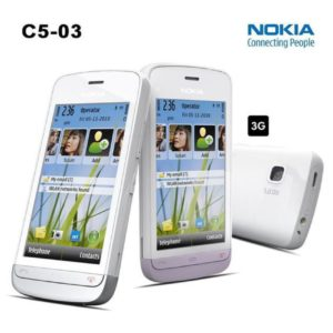 Nokia C5 03 Mobile Phone White